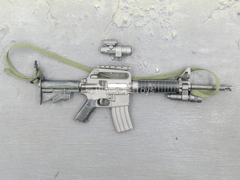 US Army Delta Force Breacher - M16 Rifle w/ACOG Scope