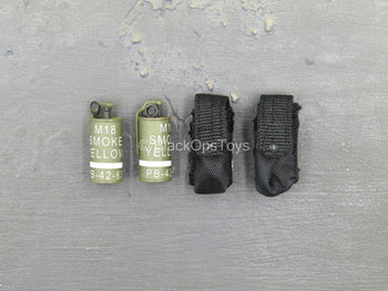 US Army Delta Force Breacher - Smoke Grenade w/Black Pouch