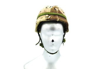 USMC In The Persian Gulf War - PASGT Helmet w/Choc Chip Cover