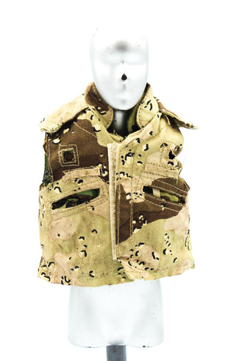 USMC In The Persian Gulf War - Woodland Flak Jacket w/Flak Cover