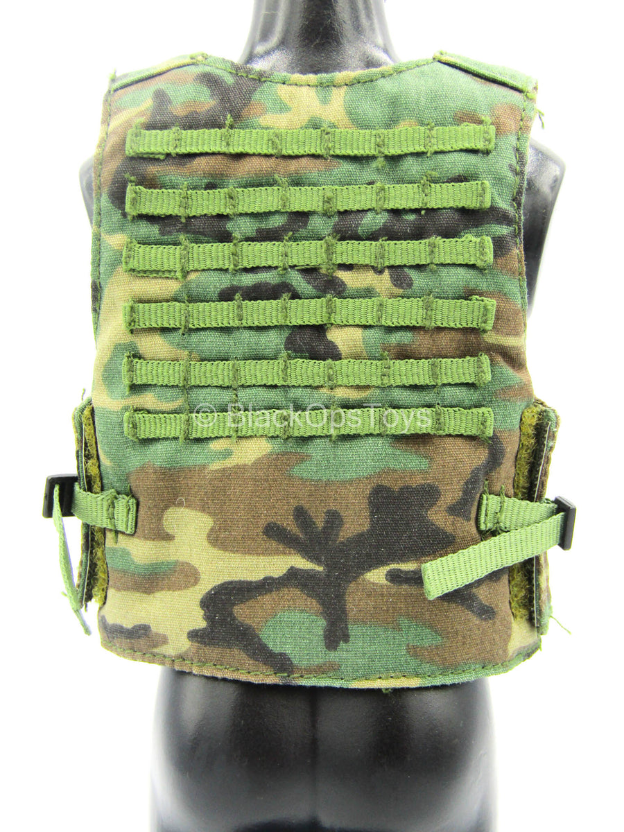 Special Ops - Woodland Camo MOLLE Vest
