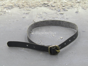 Grey Man Ver. A - Black Leather Like Belt w/Metal Buckle
