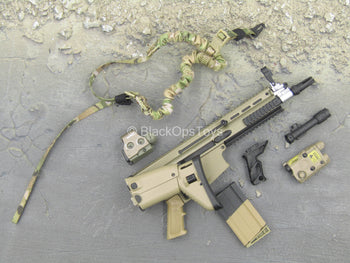 Grey Man - Scar-H Assault Rifle w/Attachment Set
