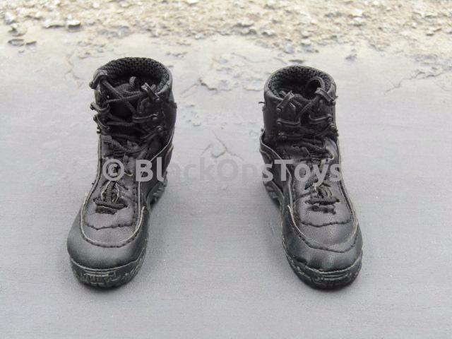 VTS The Punisher Revenger Black Combat Boots Foot Type