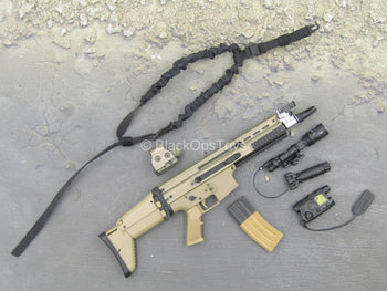 Grey Man Ver. B - Scar-L Assault Rifle w/Attachment Set