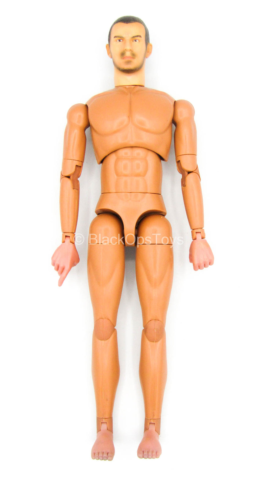 Covert Force Agent - Male Base Body w/Head Sculpt