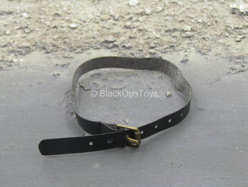 Grey Man Ver. B - Black Leather Like Belt w/Metal Buckle