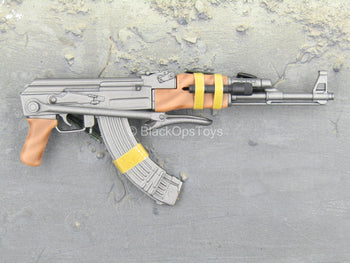 Covert Force Agent - AK-47 w/Folding Stock & Dual Mag
