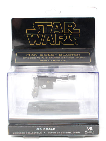 1/3 scale - STAR WARS - Han Solo Blaster Pistol - MINT IN BOX