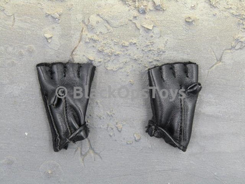 VTS The Punisher Revenger Black Fingerless Gloves