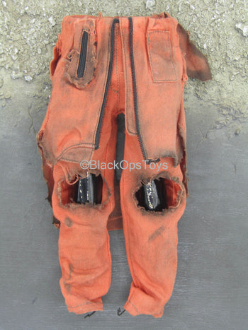 Iron Man 2- Whiplash - Orange Battle Damaged Jumpsuit (Dyed)