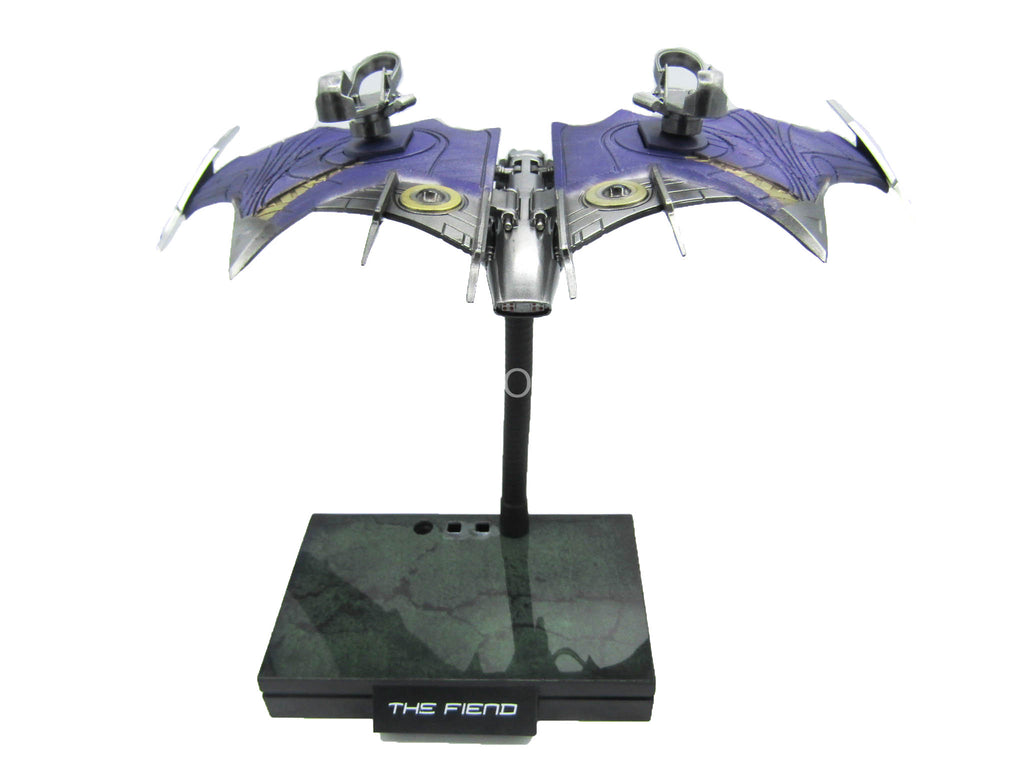 Spider-Man - The Fiend - Goblin Glider w/Base Figure Stand