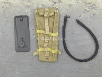 USAF Pararescue Jumper - Tan MOLLE Hydration Pouch w/Hydration Pack