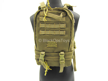 USAF Pararescue Jumper - Tan MOLLE Backpack