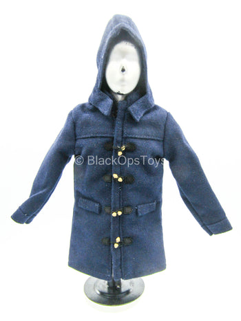 Cold Weather Wear - Navy Blue Duffel Jacket