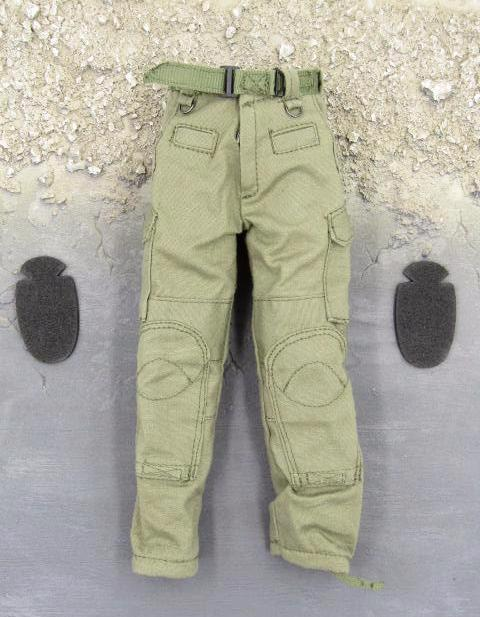Barrack Sergeant PMC Machine Gunner Olive Green Combat Pants w/Knee Pads