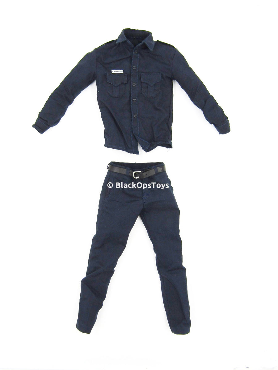"John ""Robin"" Blake Dark Knight Rises Gotham Police Uniform Set"