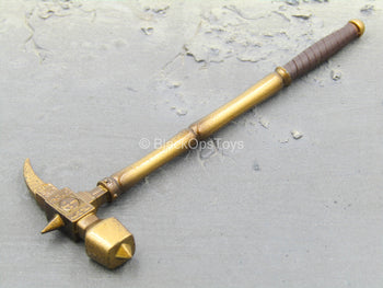 Metal Gold Like Hammer