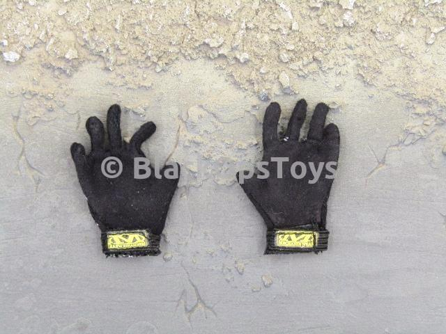 Barrack Sergeant PMC Machine Gunner Black Mechanix Gloves