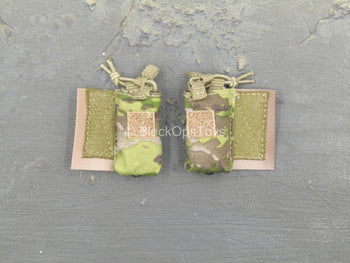 US Air Force - PJ - Pair of Multicam Hook & Loop Radio Pouch
