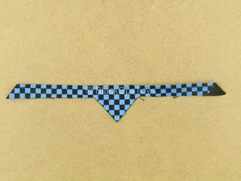 1/12 - Rumble Society - PSCC - Black & Blue Checkered Bandanna
