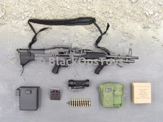 Barrack Sergeant PMC Machine Gunner MK48 Set