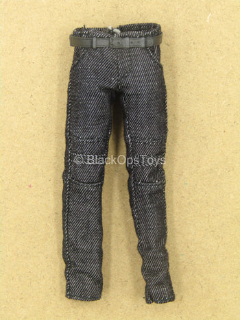 1/12 - Rumble Society - PSCC - Black Pants w/Belt