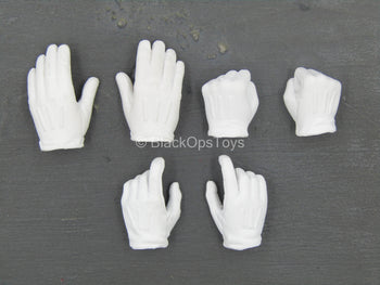 Ghost - White Gloved Female Hand Set