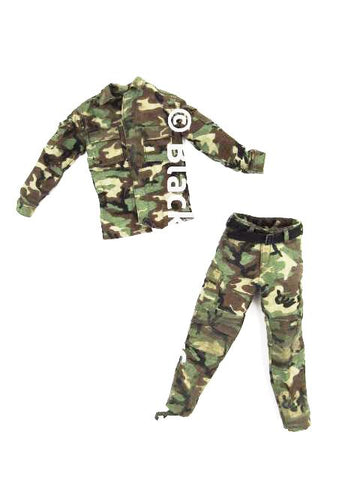 Navy Seal Special Tears of the Sun Woodland Combat Uniform Set