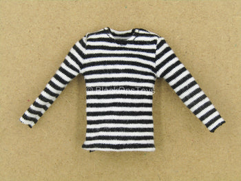 1/12 - Rumble Society - PSCC - Black & White Striped Shirt