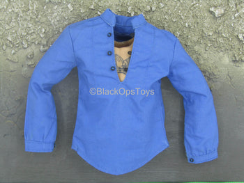 The Cowboy - Blue Long Sleeve Shirt