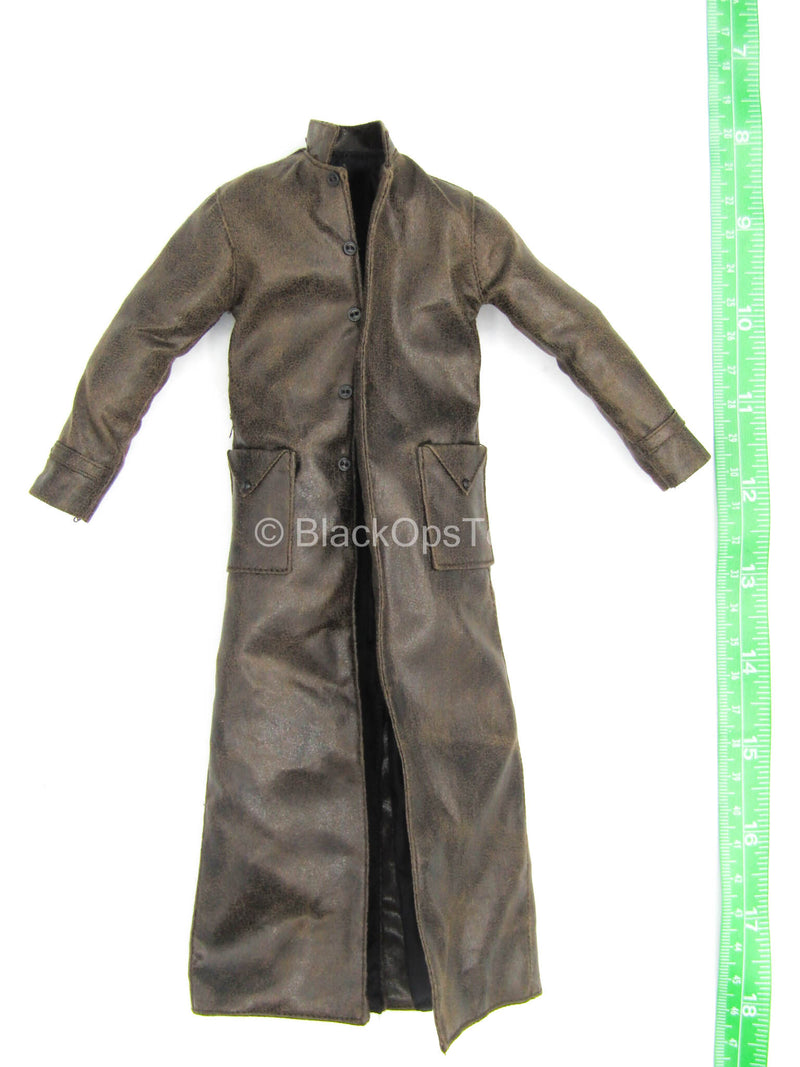 Iron Warrior - Leather Like Trench Coat