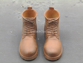 Iron Warrior - Brown Boots (Peg Type)
