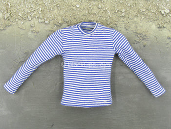 PMC - The Escort - Blue & White Striped Shirt