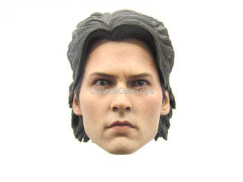 Sleepy Hollow - Ichabod Crane - Male Head Sculpt w/Interchangeable Hair