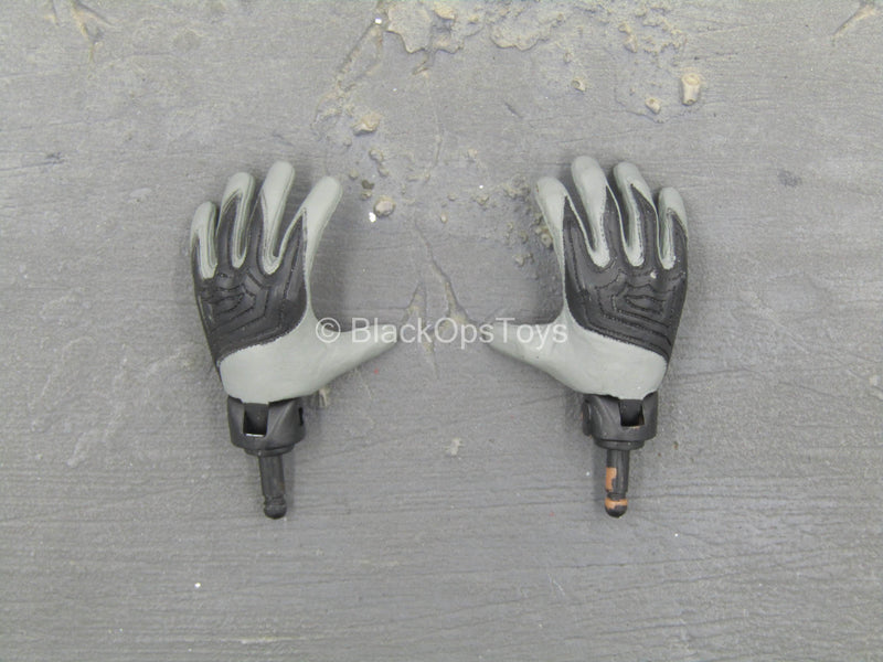 BODY - Gray Gloved Football Hands