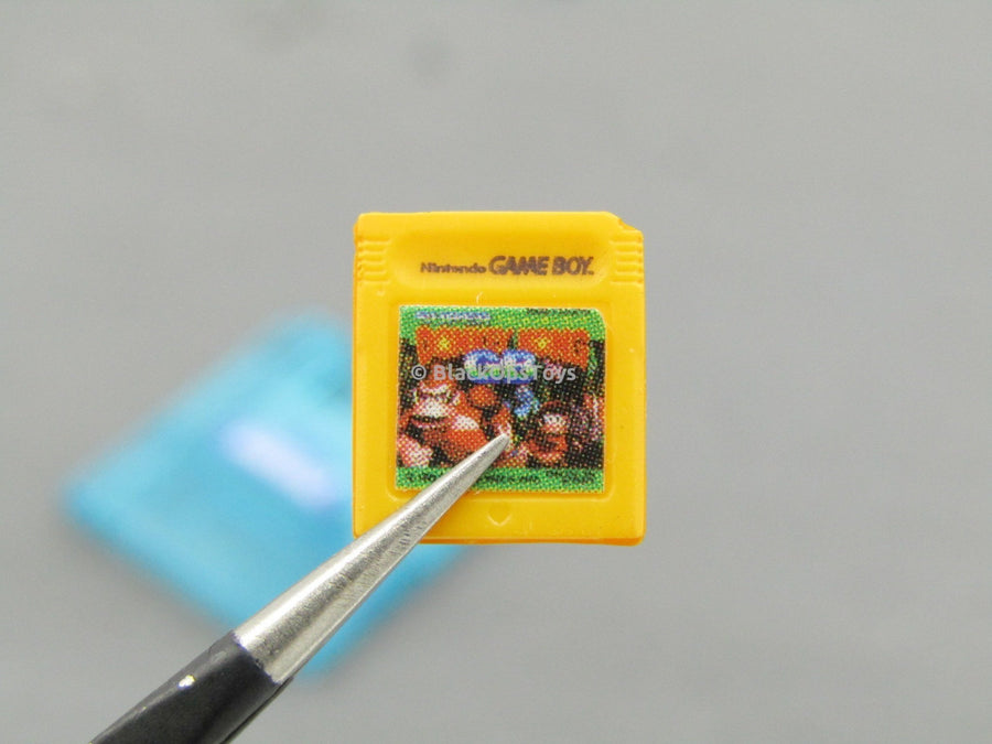 Nintendo History Collection 1/6 Scale Super Famicom Donkey Kong Cartridge Set