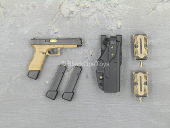 PMC - The Escort - Tan 9MM Pistol w/Holster Set