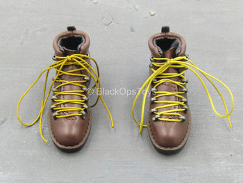 PMC - The Escort - Brown Boots (Peg Type)