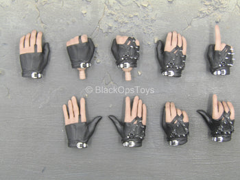 Michael Jackson - Bad Version - Spiked Gloved Hand Set