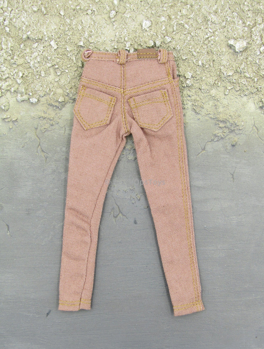1/6 Scale Female Mauve Pink Jeans