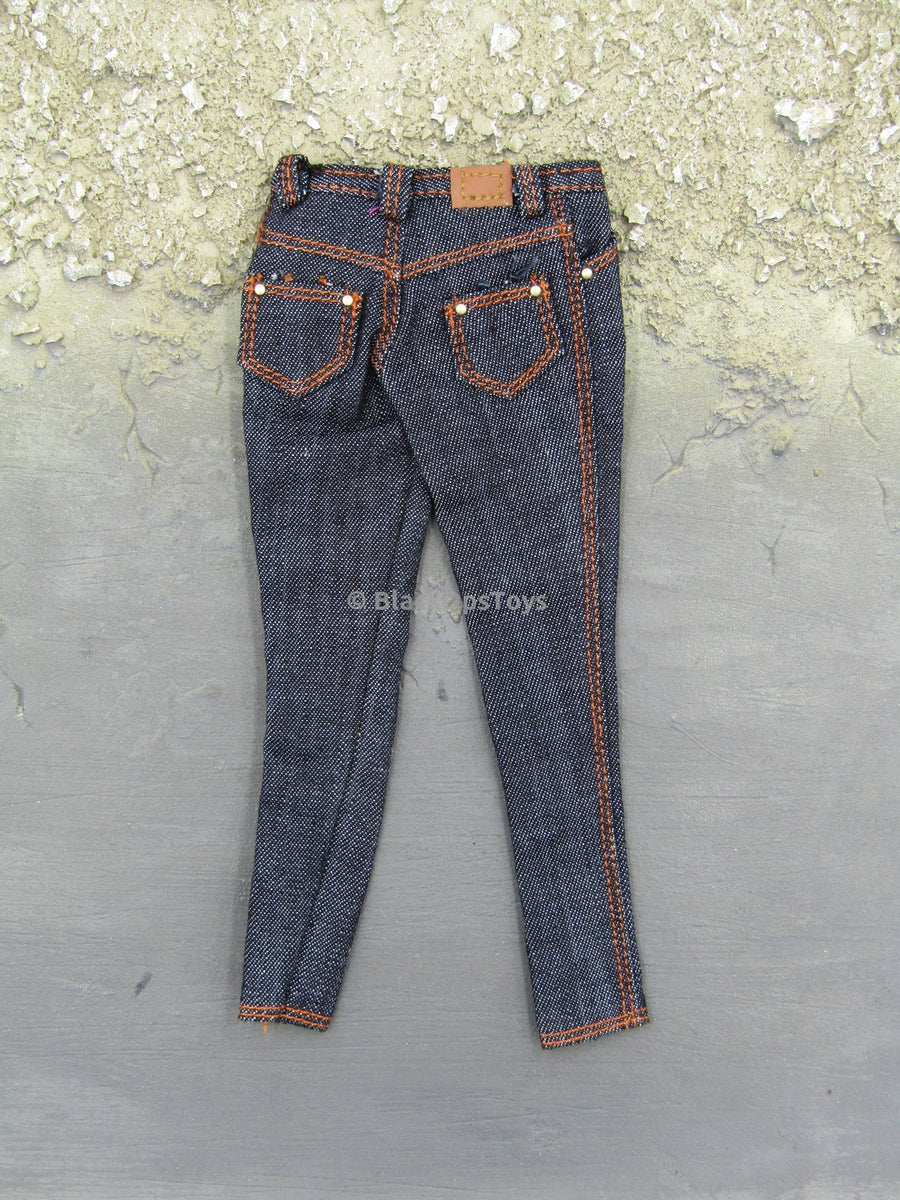 1 6 Scale Female Dark Blue Jeans Blackopstoys