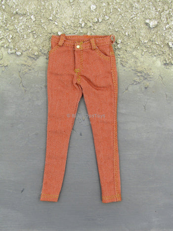 1/6 Scale Female Light Orange Jeans
