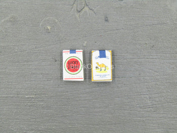 WWII - 82nd Airborne Division - Cigarette Packs