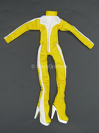 Female White & Yellow Speed Suit 2.0 - MINT IN PACKAGE