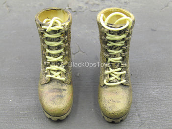 USMC 3rd Service - Female Weathered Boots (Foot Type)