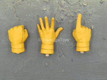 X-Men - Cyclops - Yellow Gloved Male Hand Set Type 1