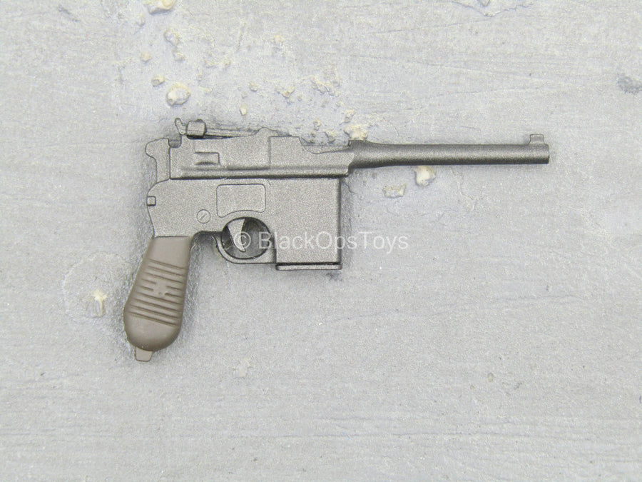 WWII - 18th Army - Medical Soldier - Mauser C96 Pistol