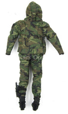 HALO UDT Jumper - Woodland Camo Dry Suit