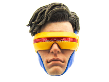 X-Men - Cyclops - Male Head Sculpt w/Interchangeable Visors
